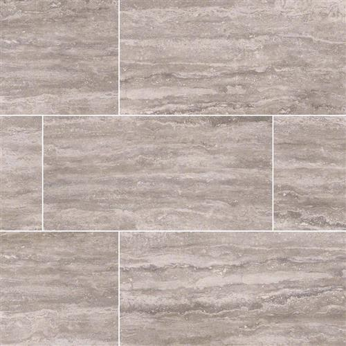 Pietra Venata Gray Polished Mosaic