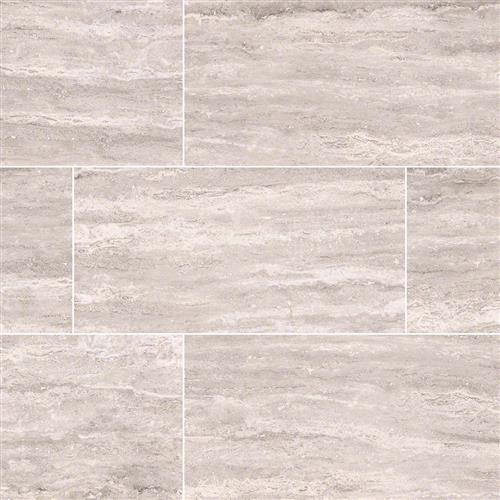 Pietra Venata White Polished Mosaic