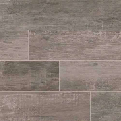 Capella Wood Plank Porcelain Tile Ash