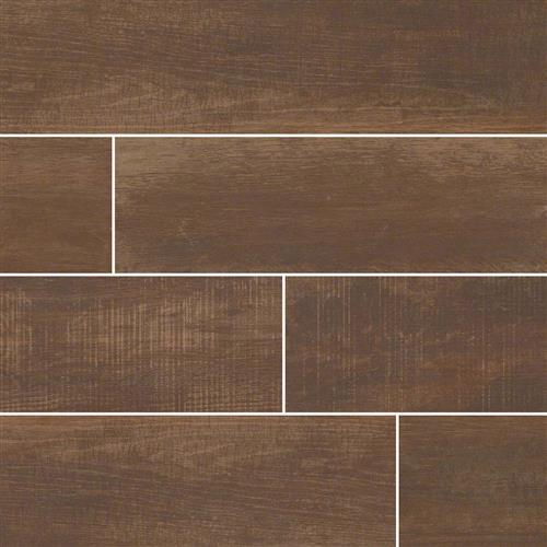 Capella Wood Plank Porcelain Tile Java