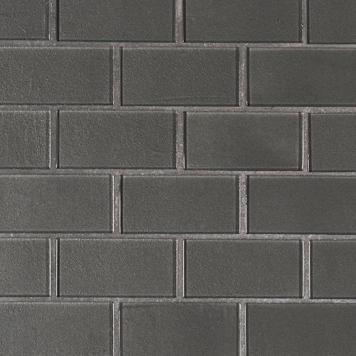 Metallic Gray Subway Tile 2X4