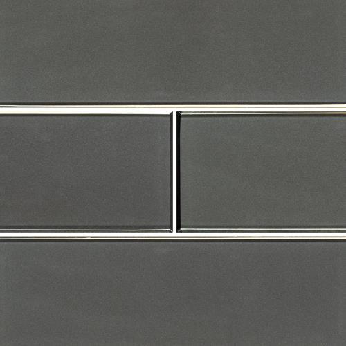 Metallic Gray Bevel