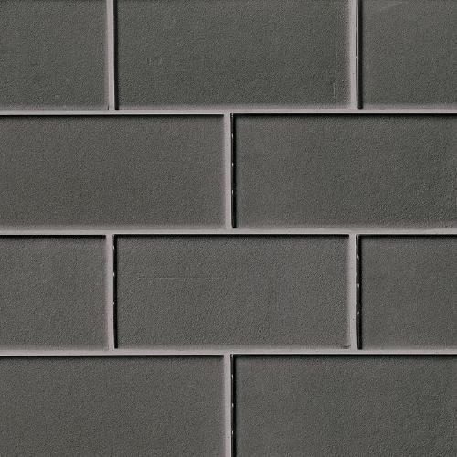 Metallic Gray Subway Tile 3X6