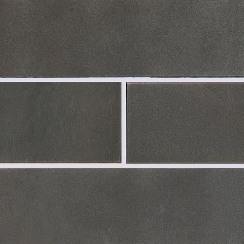 Metallic Gray Glass Subway Tile