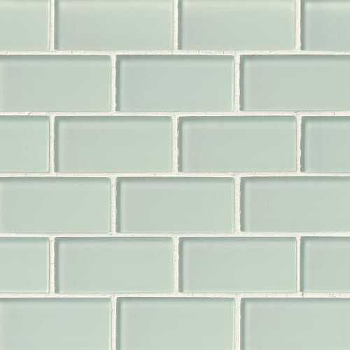 Artic Ice Glass Subway Tile 2X4