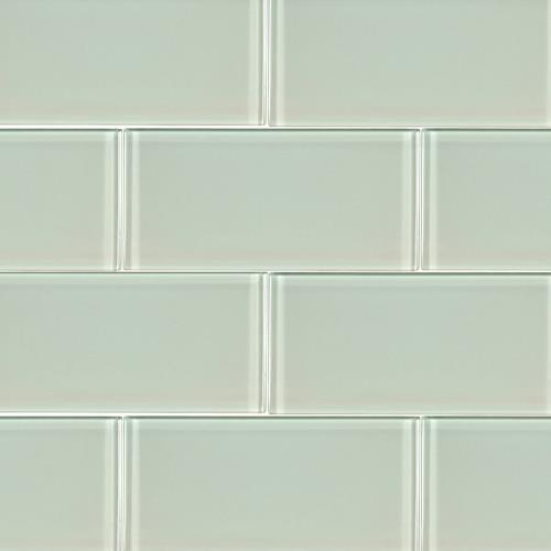 Artic Ice Glass Subway Tile 3X6