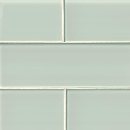 Artic Ice Glass Subway Tile 4X12
