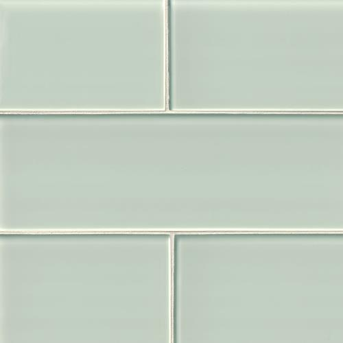 Artic Ice Glass Subway Tile 4X12