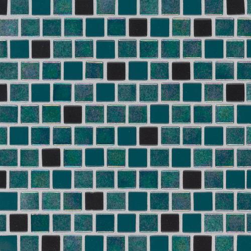 Caribbean Mermaid Glass Tile