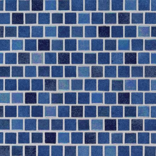 Hawaiian Blue Glass Tile