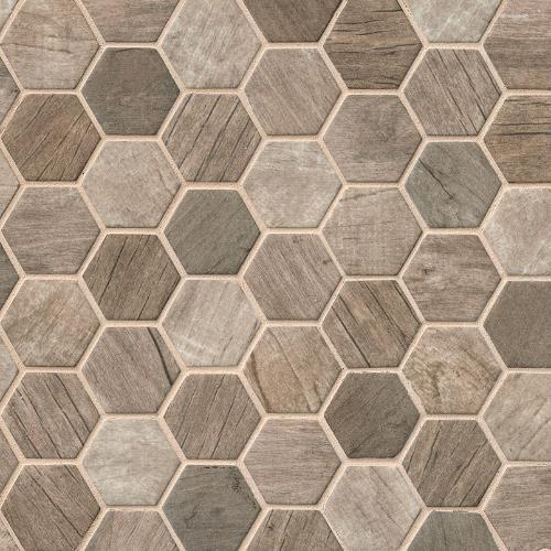 Driftwood Hexagon