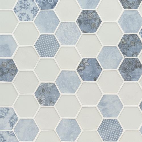 Vista Azul Hexagon