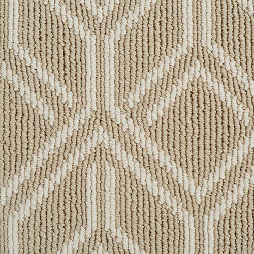Atelier Icon  Pioneer Vector in Ecru - Carpet by Stanton