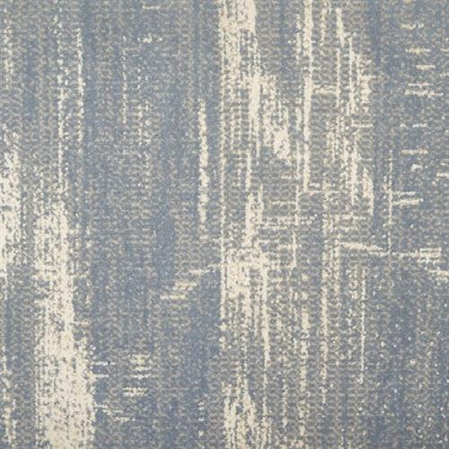 Rhythm in Ice Blue - Carpet by Stanton