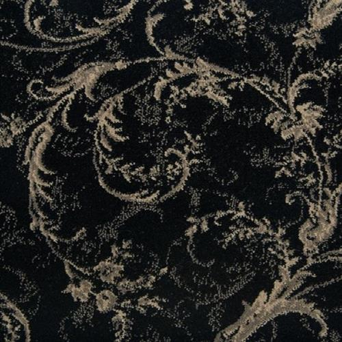 Lake Constance in Black - Carpet by Stanton