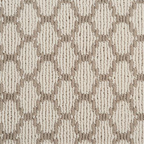 Pioneer Interlock in Ecru - Carpet by Stanton