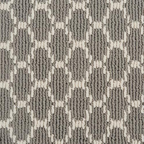 Pioneer Interlock in Grey Pearl - Carpet by Stanton