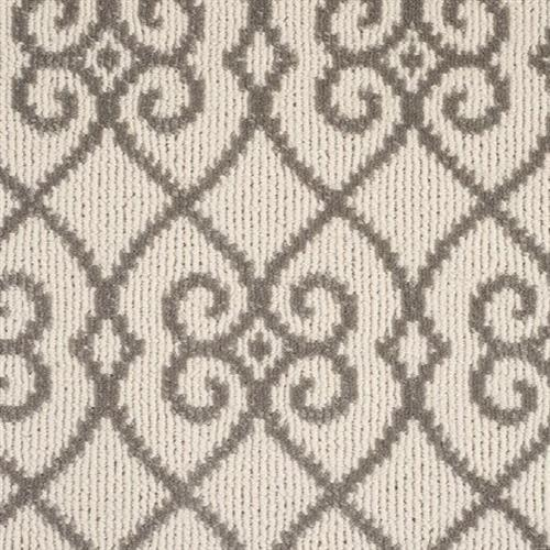 Atelier Icon  Legend Links in Antique Silver - Carpet by Stanton