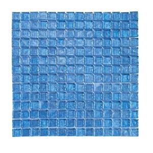 GlassTile RaindropsII 70059 ArubaBlue