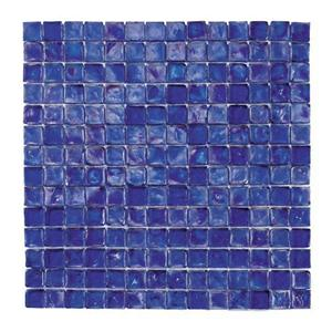 GlassTile RaindropsII 70071 TahoeBlue