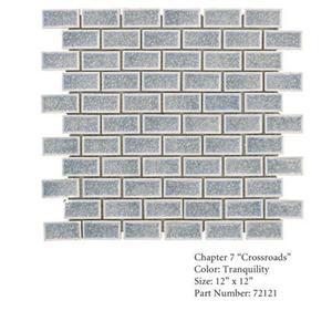 GlassTile Crossroads 72121 Tranquil