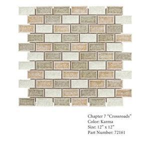 GlassTile Crossroads 72161 KarmaMedley