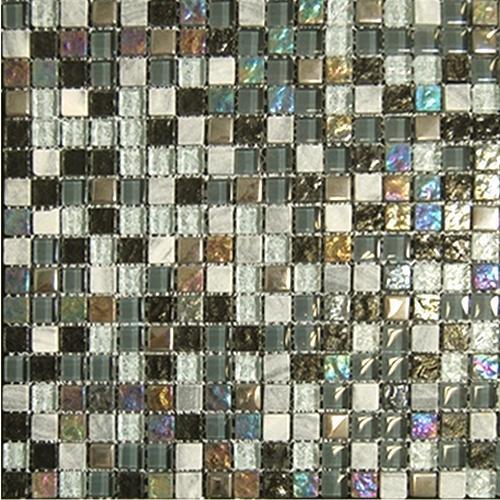 GLASS AND STONE 1/2 X 1/2 Ebony Blend