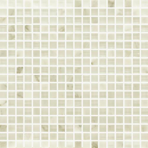 IN STOCK GLASS AND STONE MOSAICS Carrara  Glass 5/8