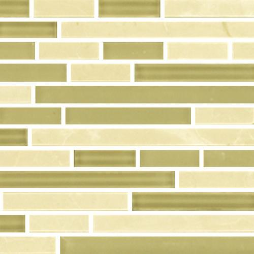 IN STOCK GLASS AND STONE MOSAICS Crema Marfil  Glass