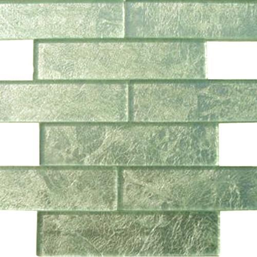 GLASS TILE Silver Dust 2X8