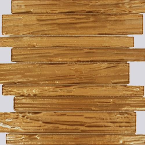 GLASS TILE Golden Maple Planks