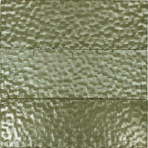 GLASS TILE Tech Gray 4X12