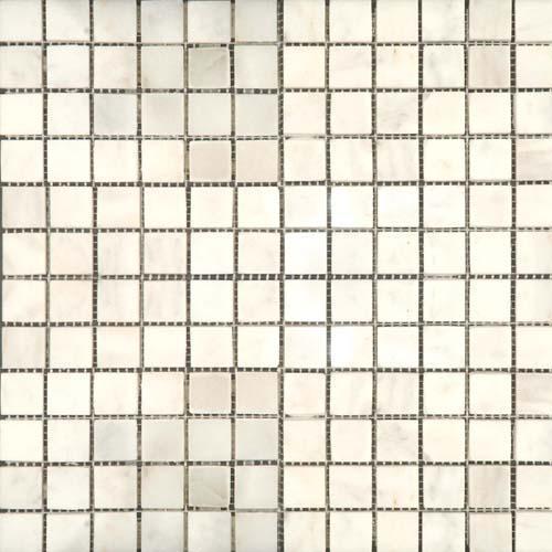 CARRARA MARBLE 1X1 Carrara Mosaic Polished