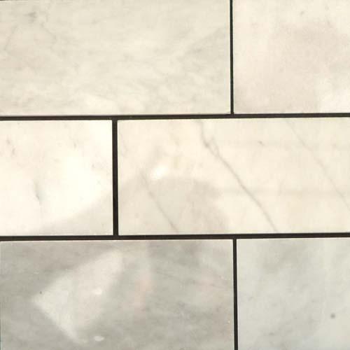 CARRARA MARBLE 3X6 Carrara Polished