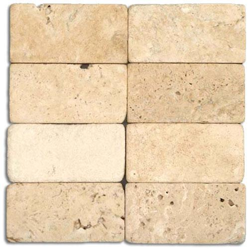 TRAVERTINE 3X6 Cream Acid-Washed