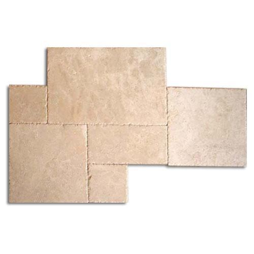 TRAVERTINE Versailles Cream Chiseled  Brushed