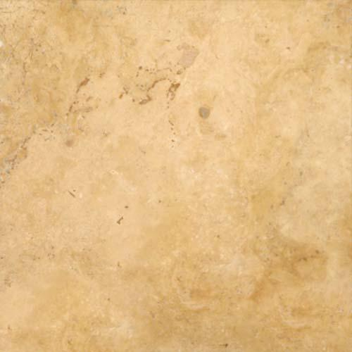 TRAVERTINE 16X16 Gold Tumbled