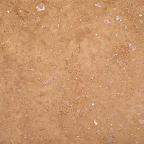 TRAVERTINE 16X16 Noce Honed/Filled