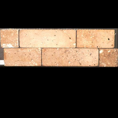 TRAVERTINE Random Mosaic Noce