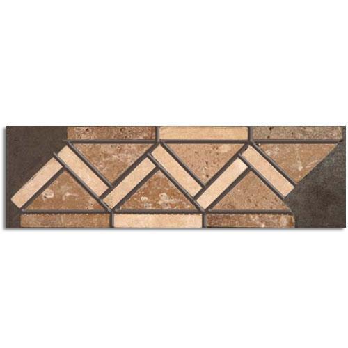 Desitter Flooring Travertine 35x12 Creamnoce Tumbled Natural Stone