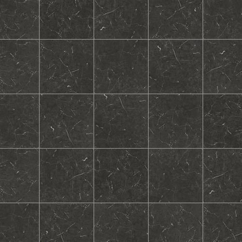 Knight Tile Midnight Black Marble
