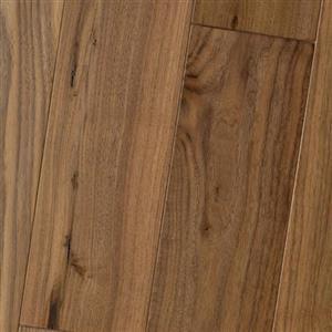 Hardwood AmishSoft-Scraped-Engineered PR-ASSE-BWNA-6 BlackWalnutNatural