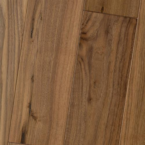 Amish Soft-Scraped - Engineered Black Walnut Natural