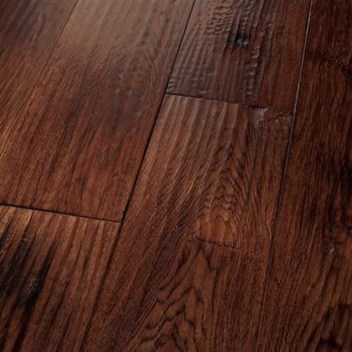 Engineered Cara Hickory Smoked Red, Red Hickory Laminate Flooring