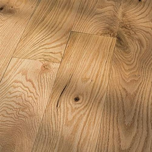 Traditional Character - Solid Red Oak Natural