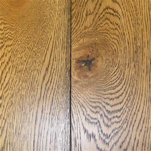 Hardwood Aesthetics-Engineered AE-AEE-WBL-7 WhiteOakNaturalBlackLiimedAndWireBrushed