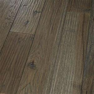 Hardwood AmishHand-Scraped-Engineered PR-AHSE-HKGR-4 HickoryGraphite