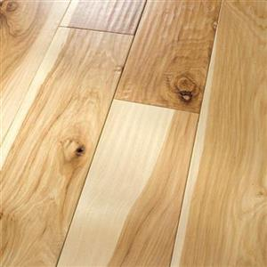Hardwood AmishHand-Scraped-Engineered PR-AHSE-HKNT-4 HickoryNatural