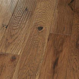 Hardwood AmishHand-Scraped-Engineered PR-AHSE-HKSD-5 HickorySaddle