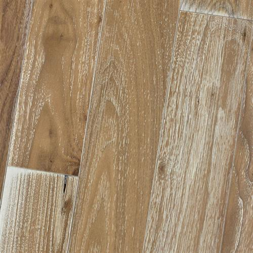 Wire Brushed - Solid Black Walnut Natural White Lime